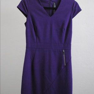 Marc Jacobs Fitted Purple Dress